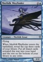 Zendikar Foil: Merfolk Wayfinder