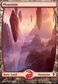 Zendikar: Mountain (242 A - Full Art)