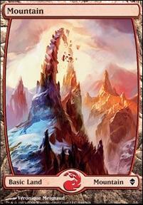 Zendikar: Mountain (244 C - Full Art)