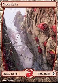 Zendikar: Mountain (245 D - Full Art)