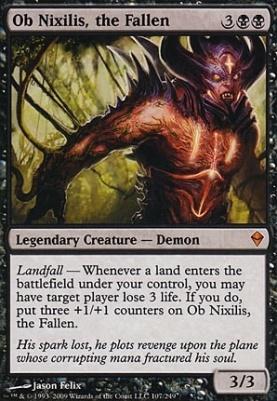 Zendikar: Ob Nixilis, the Fallen