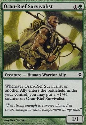 Zendikar Foil: Oran-Rief Survivalist