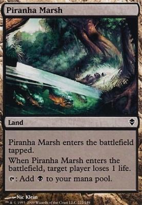 Zendikar Foil: Piranha Marsh
