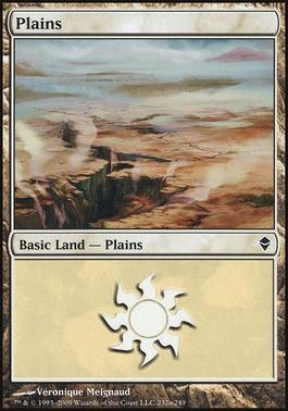 Zendikar: Plains (232 C - Non-Full Art)