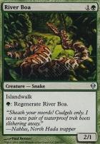 Zendikar Foil: River Boa