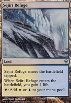 Zendikar Foil: Sejiri Refuge