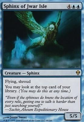 Zendikar Foil: Sphinx of Jwar Isle