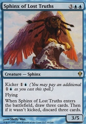 Zendikar: Sphinx of Lost Truths