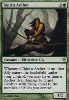 Zendikar Foil: Tajuru Archer