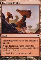Zendikar Foil: Teetering Peaks