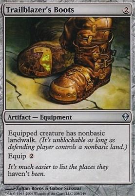 Zendikar: Trailblazer's Boots
