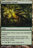 Zendikar Foil: Turntimber Grove
