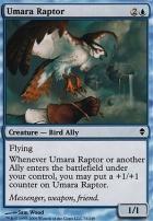 Zendikar Foil: Umara Raptor
