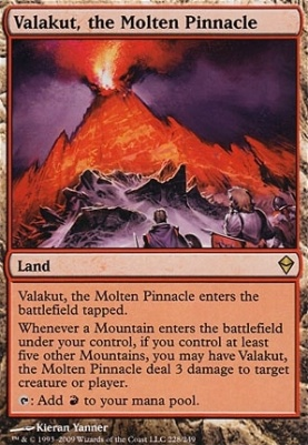 Zendikar: Valakut, the Molten Pinnacle