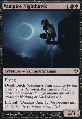 Zendikar: Vampire Nighthawk