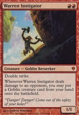 Zendikar Foil: Warren Instigator